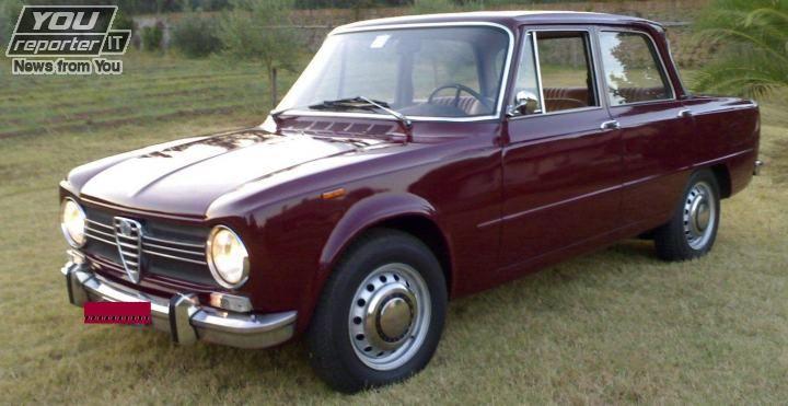Alcune automobili di fine anni '60