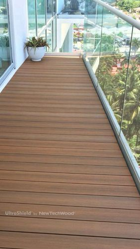 NewTechWood Capped Composite Decking in Mexico, please visit www.newtechwood.com for more information.