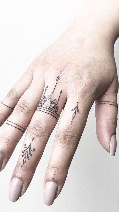 95 Tatuagens no dedo para você se inspirar – Fotos e Tatuagens