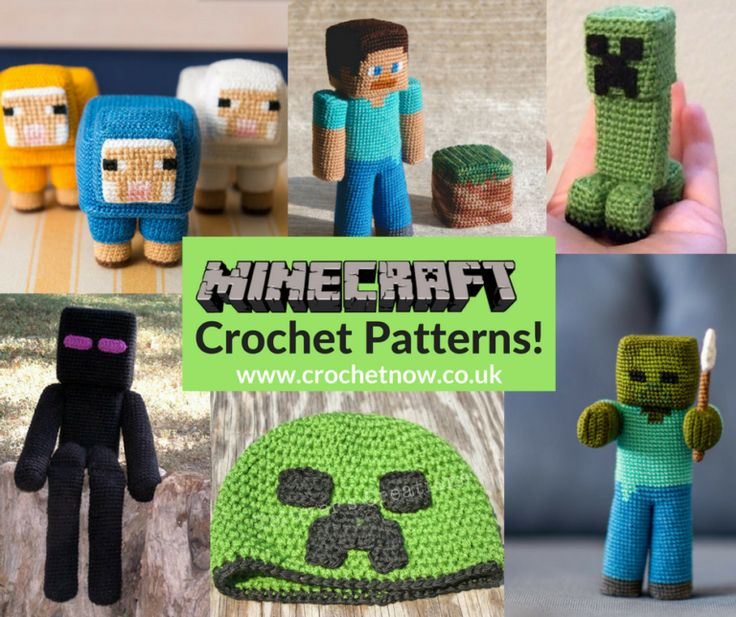 Free Crochet Patterns For Minecraft : Best 20+ Minecraft crochet ideas on Pinterest Creeper ...