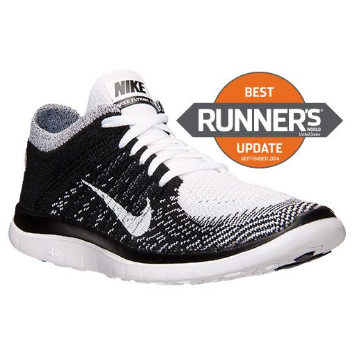 Women's Nike Free Flyknit 4.0 Running Shoes - 631050 100 | Finish Line