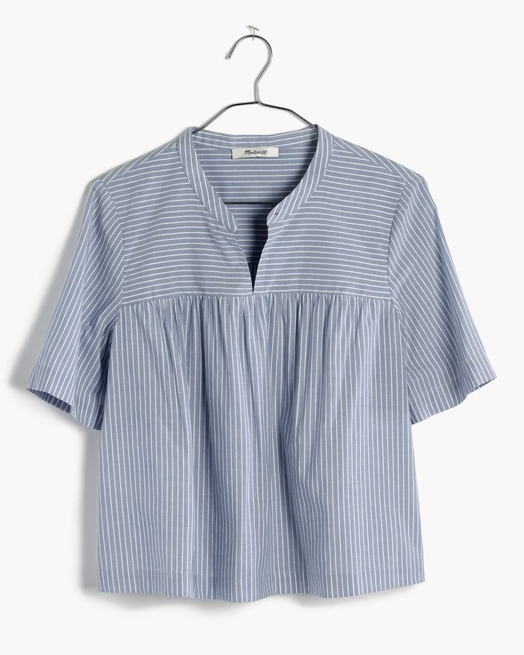 madewell stripe shoreward top