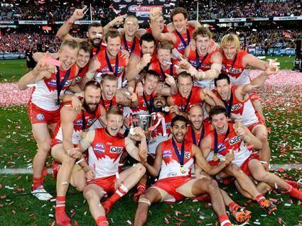 My boys ♥ Sydney Swans