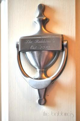 Personalized door knocker home ideas pinterest for Custom made door knockers