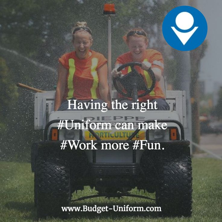 Having the right #Uniform can make #Work more #Fun. #Budget #Affordable #SoCal #LA