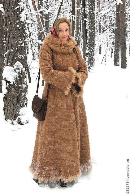 """Верхняя одежда ручной работы. Ярмарка Мастеров - ручная работа Зимнее пальто """"Рыжик"""". Handmade."""