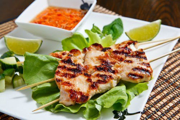 Grilled Lemongrass Chicken II Recipe | Yum Yum Yum | Pinterest