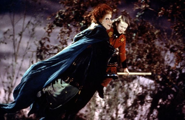 """hocus pocus""  Bette Midler, Sarah Jessica Parker and Kathy Najimy"