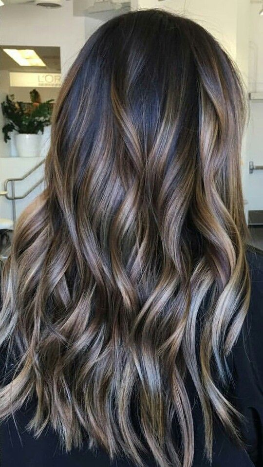 Brunette Balayage Ash Blonde Mushroom Brown Is The Hair Color Trend Of The Moment And