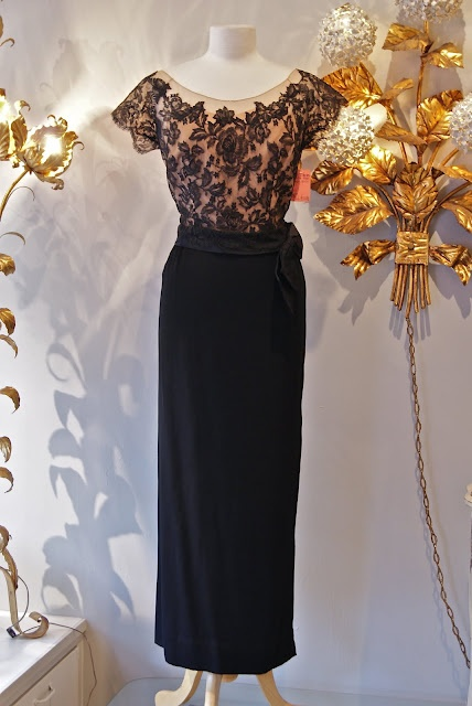 Early 60's evening gown