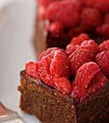 Chocolate-Raspberry Truffle Bars | Recipe
