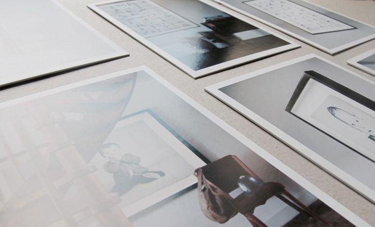 letterpress + offset printing for Nousha Photography postcards