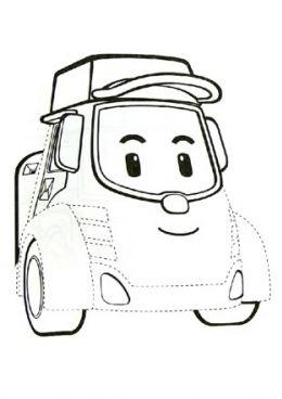Les 19 meilleures images du tableau coloriage robocar poli - Dessin anime gratuit robocar poli ...