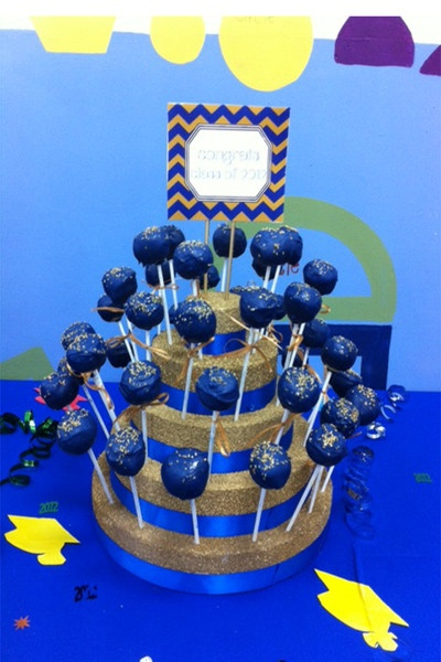 Graduation Cake Pops Pinterest