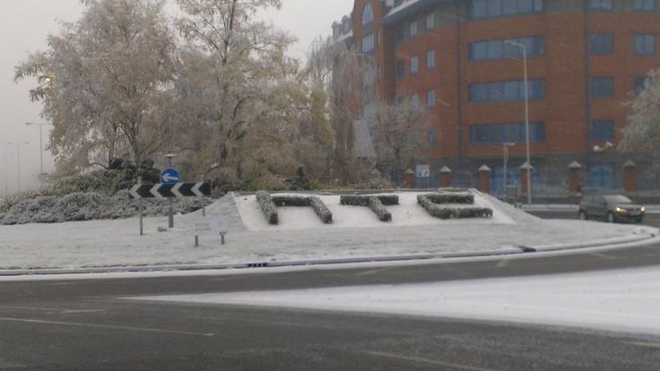 HTC HQ in Winter