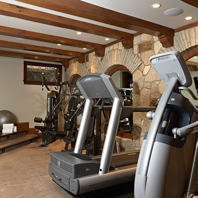 56 best home gym images on pinterest  exercise rooms