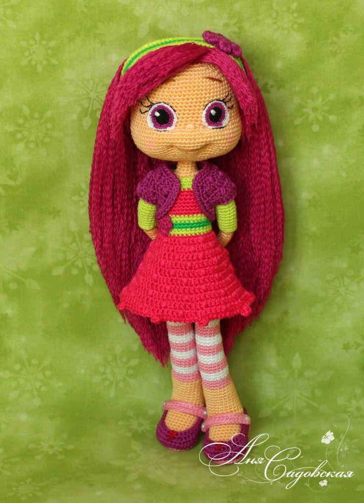 Малинка - Мои игрушечки - Галерея - Форум почитателей амигуруми (вязаной игрушки)