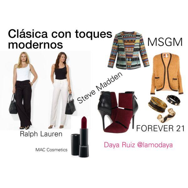"""Clásica con toques modernos"" by lamodaya on"