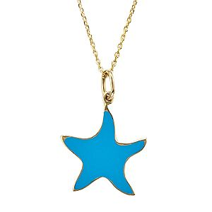 Summer necklace! 14ct gold. It is double face so you can choose your favourite colours!