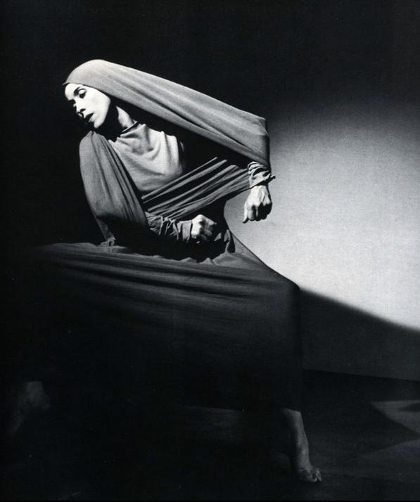 Martha Graham by Barbara Morgan