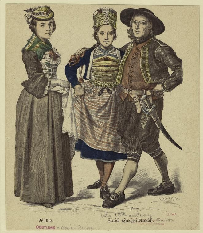 Late 18th century womens fashion