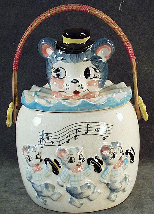 Vintage Animal Cookie Jar