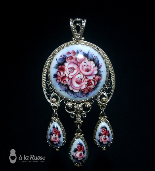 beautifull russian finift (special russian enamel)