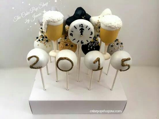 New Year's Eve (Cake Pops)