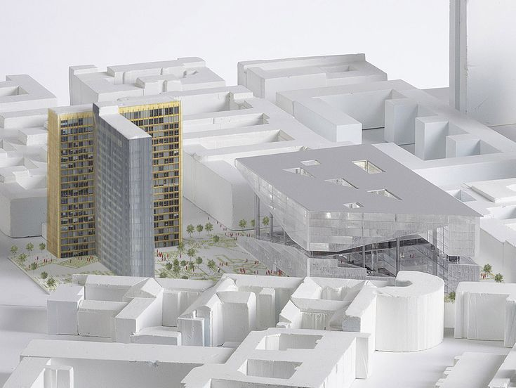 New images unveiled for Axel Springer Office Building in Berlin designed by OMA