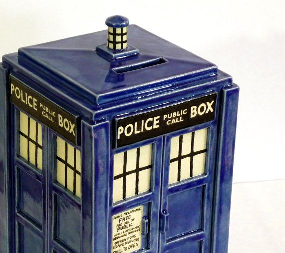 23 best vintage coin banks images on pinterest banks cast iron and old fashioned toys - Tardis piggy bank ...