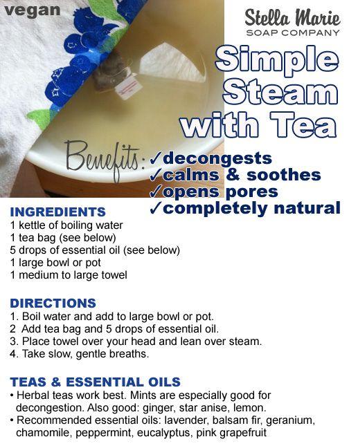 Simple Tea Steam