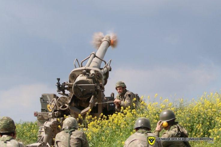 Άστραψε και βρόντηξε το Πυροβολικό της Μεγαλονήσου Αλάργα Κουμπάροι βροντοφώναξαν οι Κύπριοι της Ε.Φ (φώτο & video)