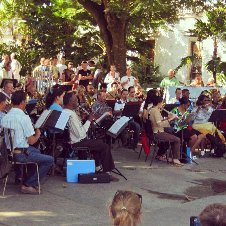 Community band in pine del rio. Cuba