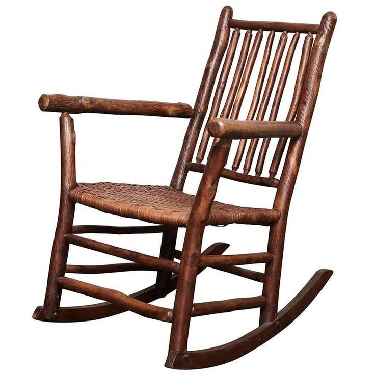 1930s old hickory rocking chair for sale vintage rocking
