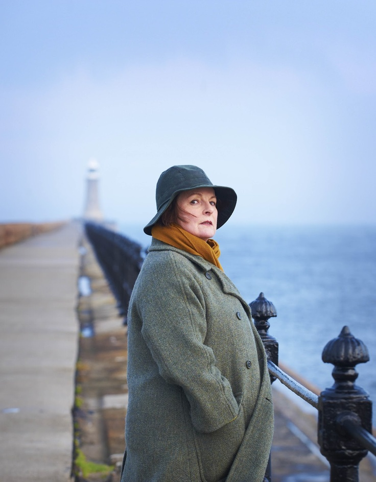 """The absolutely sublime Brenda Blethyn in """"Vera""""..... Probably one of my absolute most favorite detective shows ever. Seriously. Splendid."""