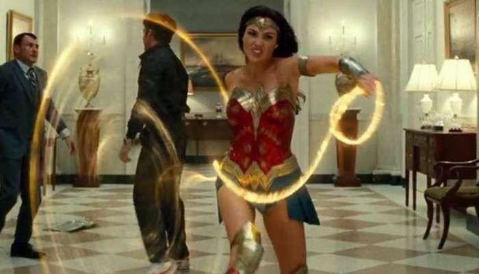 Wonder Woman 1984 2020 Trailer Tease Gal Gadot Swings Into Action The Full Trailer Drops Sunday By Warner Bros Filmbook Wonder Woman First Wonder Woman Gal Gadot