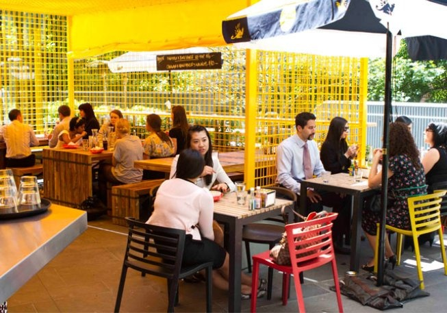 Eat and drink in Melbourne:  Paco's Tacos   Level 1, 500 Bourke Street, Melbourne (access via Little Bourke)
