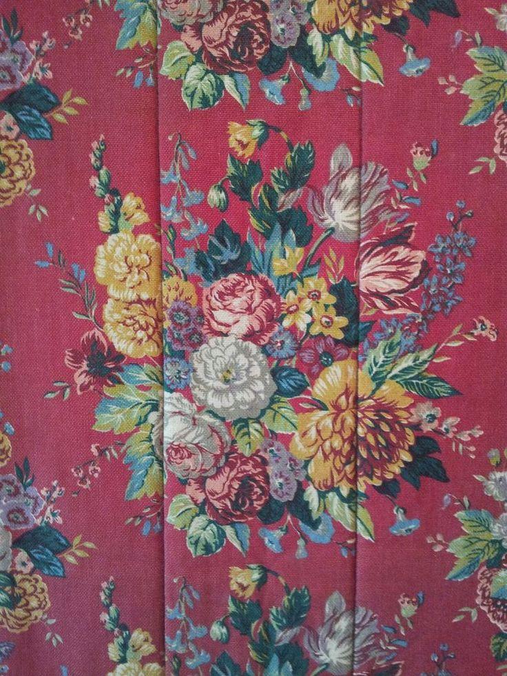 ralph lauren aylesbury floral red queen bed comforter