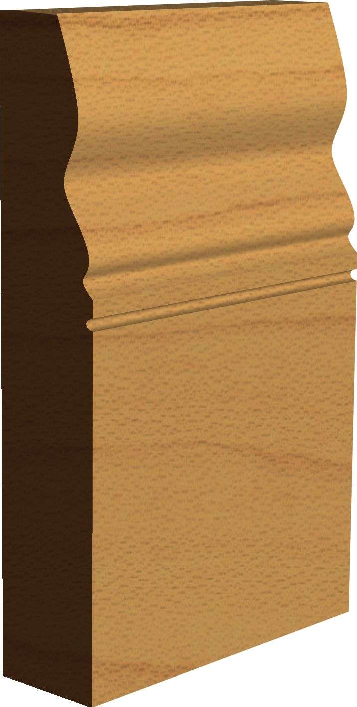 """Edwardian Interior Architectural Skirting Board - """"Crofton""""  Made by Period Mouldings - www.periodmouldings.co.uk"""