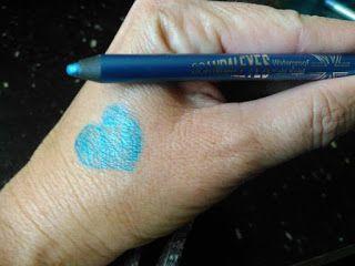 Makeup University Inc: Generation Beauty bound wearing Rimmel Scandaleyes turquoise eyeliner