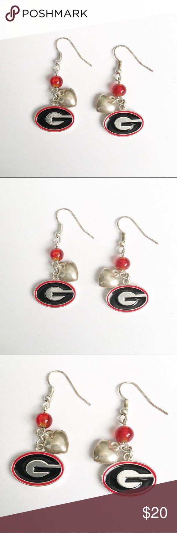 Georgia bulldogs earrings UGA Georgia Bulldogs Earrings Jewelry Earrings