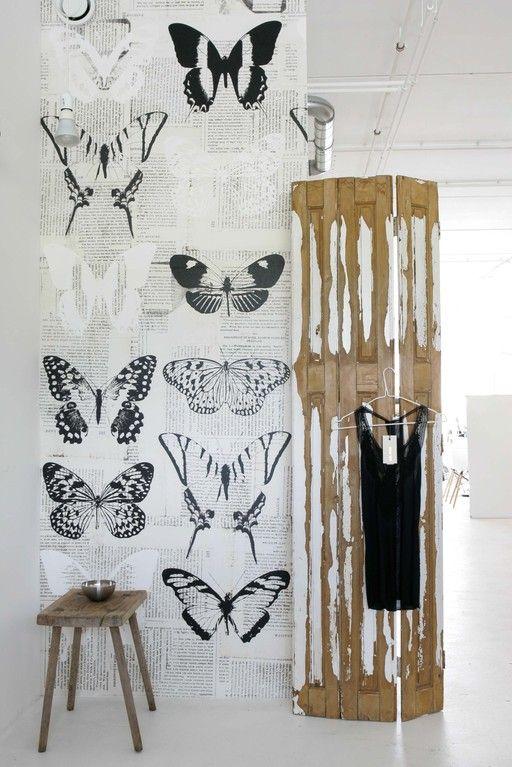 Met behang geef je in een handomdraai je muren, en daarmee je huis, een oppepper van jewelste.
