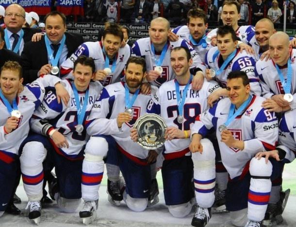 Slovak ice-hockey team awarded by silver medal on IHWC 2012!