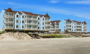 Groupon - Stay at Seascape Resort Condos in Galveston, TX, with Dates into May in Galveston, TX. Groupon deal price: $79