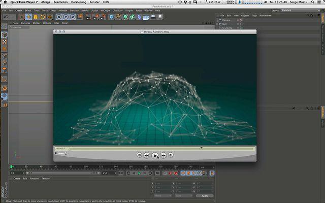 Plexus 2: Import of Cinema 4D Particles into Plexus ---> Tutorial by Serge Mustu. Hi All,