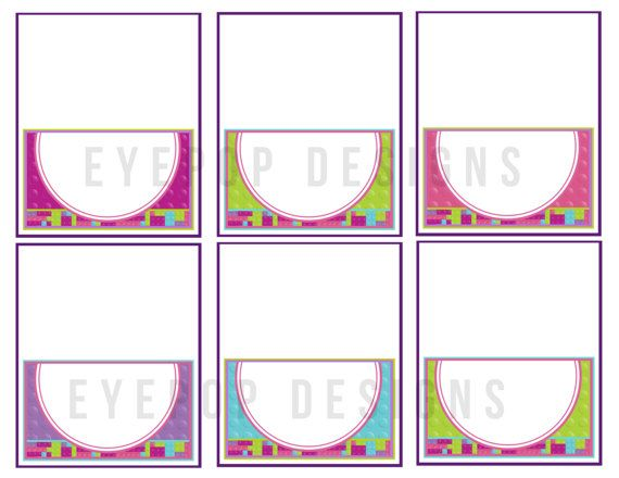 Welcome to EyePop Designs!   || THIS IS A DIGITAL FILE || I design, you print. No physical items will be mailed.   || PRODUCT DETAILS ||  You will receive one high-resolution JPEG file (formatted with 6 labels) to print and use as you wish. Size of each food label is approximately 3.5x2 inches when folded.   || HOW TO ORDER ||  1. Add this listing to your cart and proceed to checkout.  2. Instant download! You will receive an email containing a download link and full instructions within…