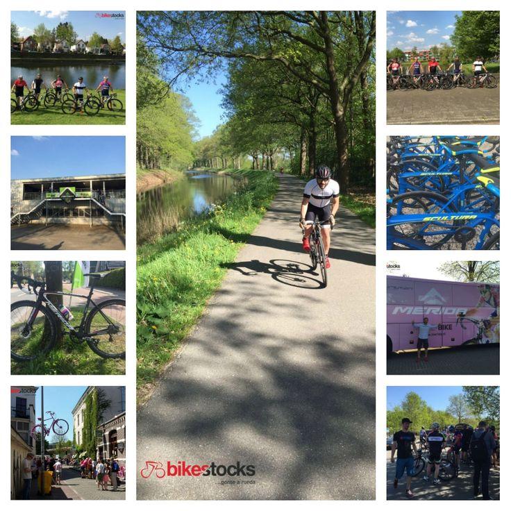 Nuestro equipo Bikestocks en la tercera etapa del Giro de Italia 2016 en Apeldoorn (Holanda). #bikestocks #bici #bicis #bicicleta #bicicletas #bike #bikes #holanda #italia #giro #apeldoorn #GiroItalia2016
