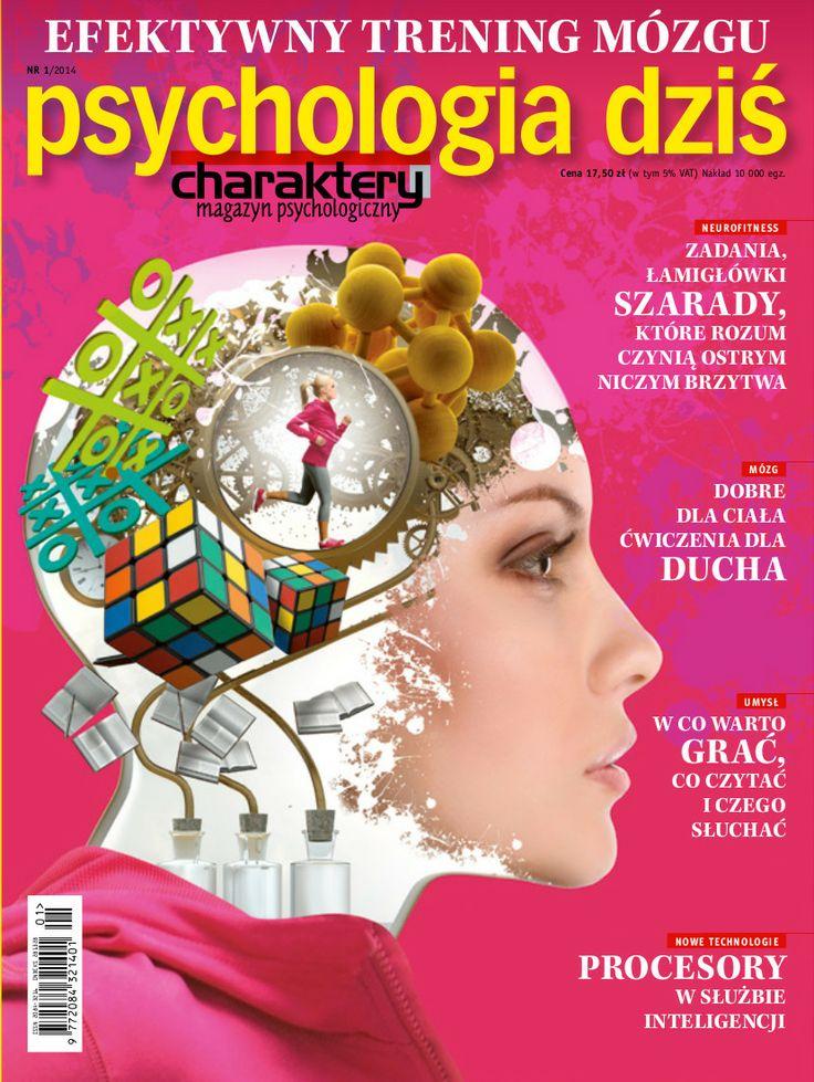 """Już jutro w kioskach nowy numer """"Psychologii Dziś""""! Naukowcy są pewni: zwiększenie potencjału intelektualnego jest możliwe. W nowej """"Psychologii Dziś"""" proponujemy sposoby na efektywny trening mózgu:  * zadania i łamigówki * ćwiczenia dla ducha i ciała * jadłospis, który pomaga żyć mądrzej"""