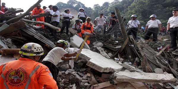 29 killed and hundreds missing in Guatemala landslide