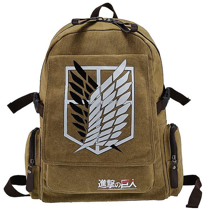Attack On Titan Backpack Australia - Free Shipping Worldwide